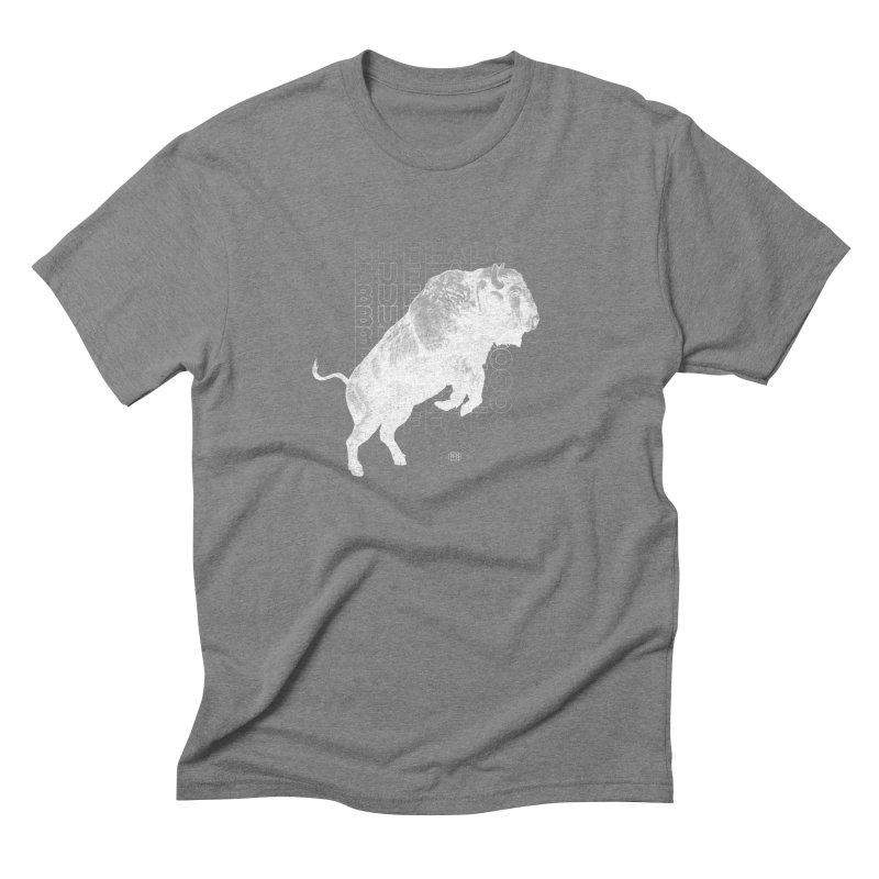 Buffalo Buffalo Bison Men's Triblend T-Shirt by Buffalo Buffalo Buffalo