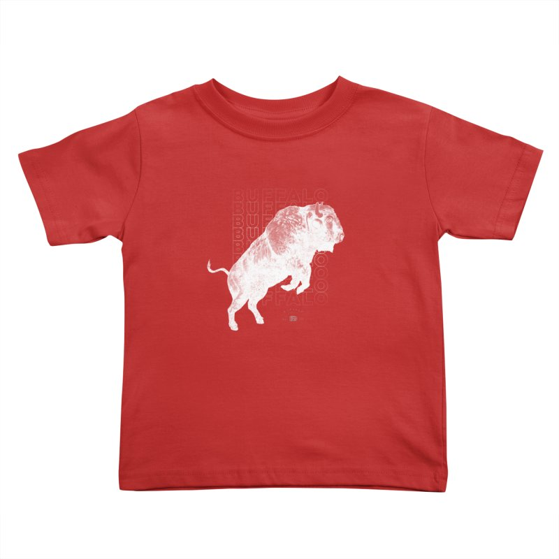 Buffalo Buffalo Bison Kids Toddler T-Shirt by Buffalo Buffalo Buffalo