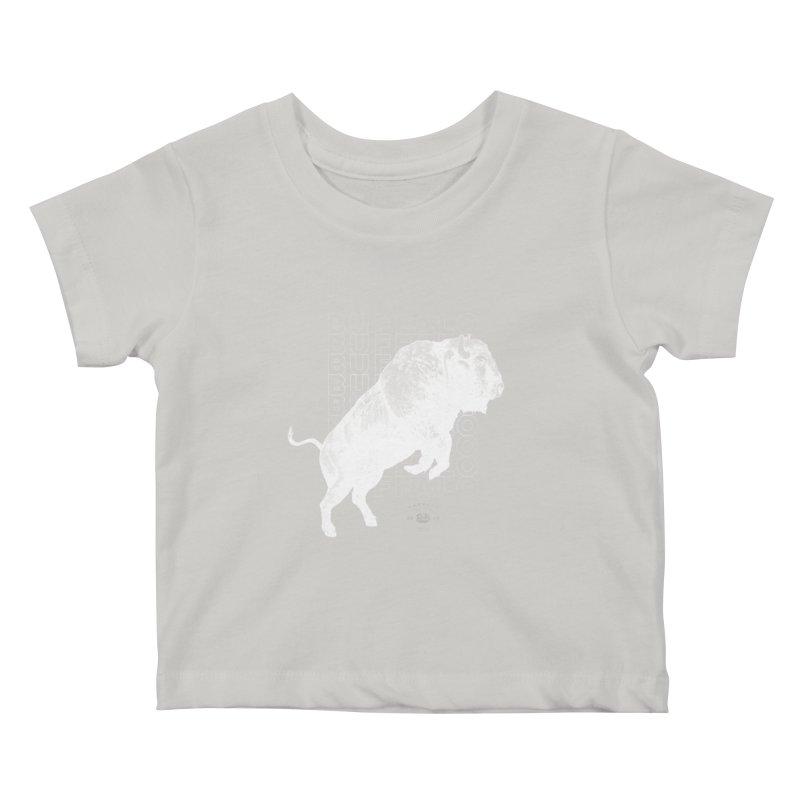 Buffalo Buffalo Bison Kids Baby T-Shirt by Buffalo Buffalo Buffalo