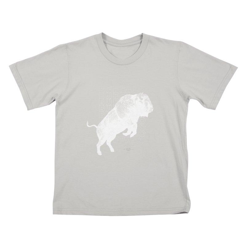 Buffalo Buffalo Bison Kids T-shirt by Buffalo Buffalo Buffalo
