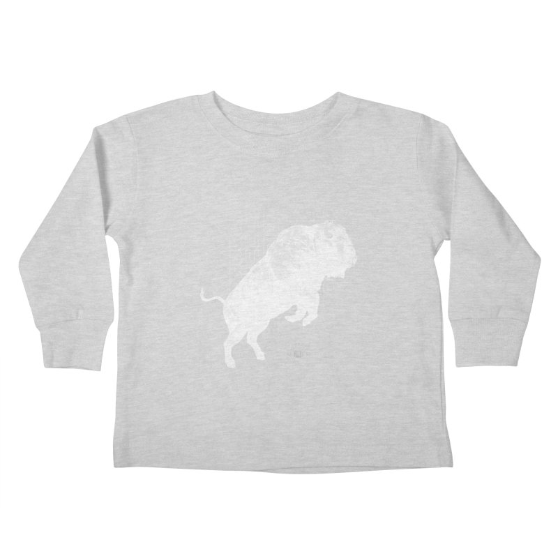 Buffalo Buffalo Bison Kids Toddler Longsleeve T-Shirt by Buffalo Buffalo Buffalo
