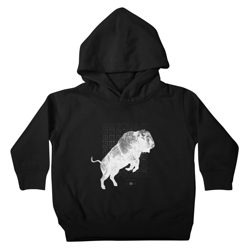 Buffalo Buffalo Bison Kids Toddler Pullover Hoody by Buffalo Buffalo Buffalo