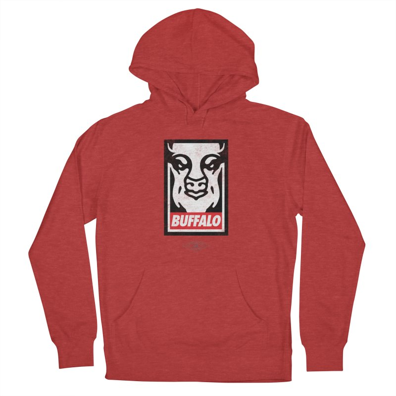 Obey the Buffalo Men's French Terry Pullover Hoody by Buffalo Buffalo Buffalo