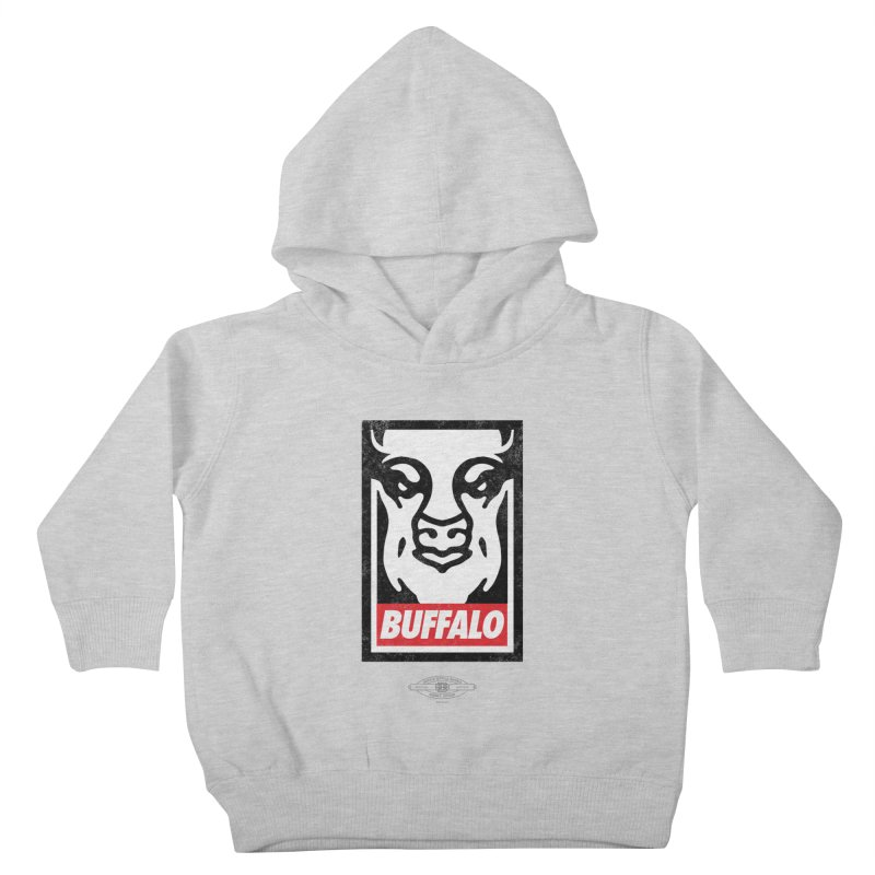 Obey the Buffalo Kids Toddler Pullover Hoody by Buffalo Buffalo Buffalo