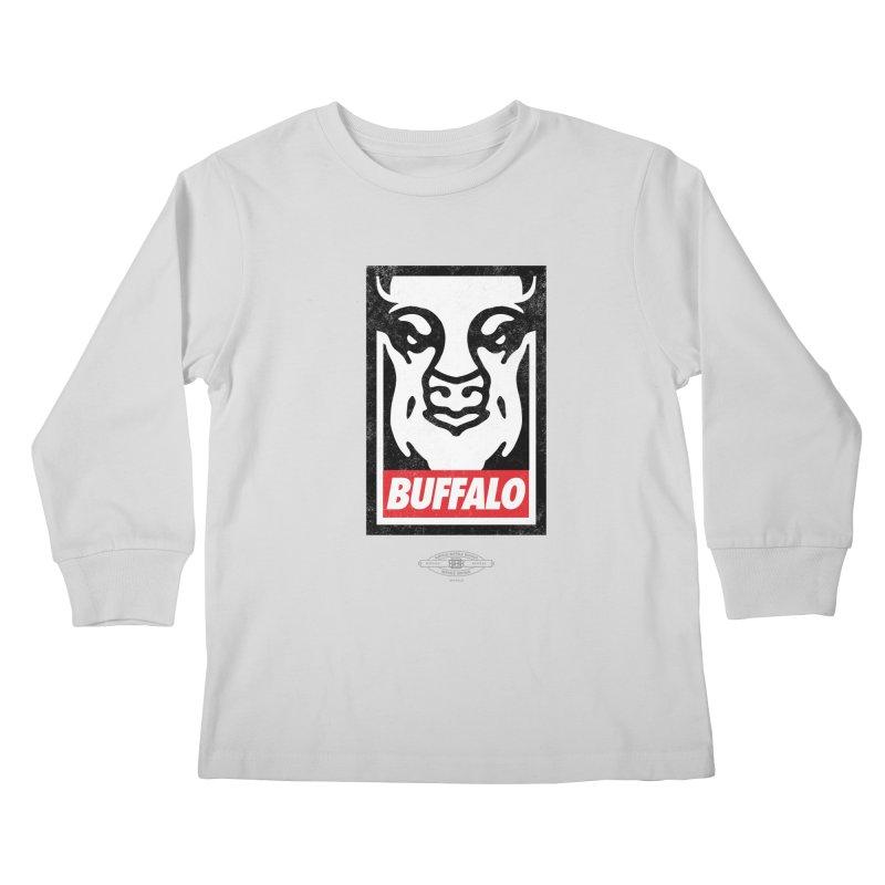 Obey the Buffalo Kids Longsleeve T-Shirt by Buffalo Buffalo Buffalo