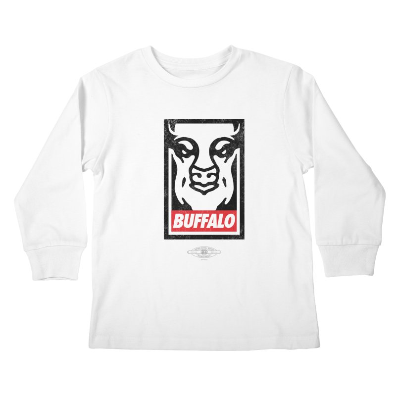 Obey the Buffalo Kids Longsleeve T-Shirt by Buffalo Buffalo Buffalo