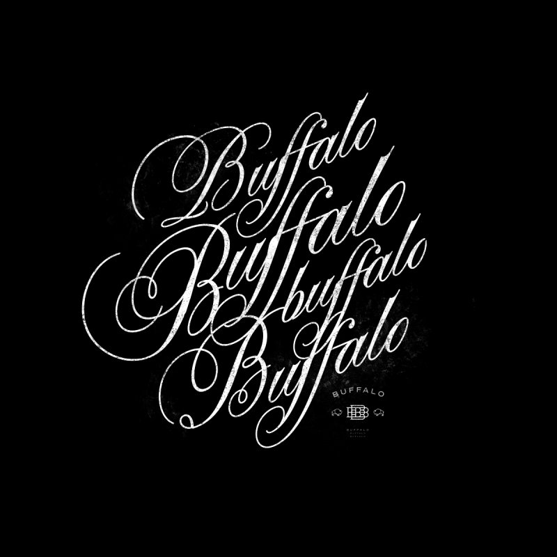 Buffalo Buffalo Script by Buffalo Buffalo Buffalo