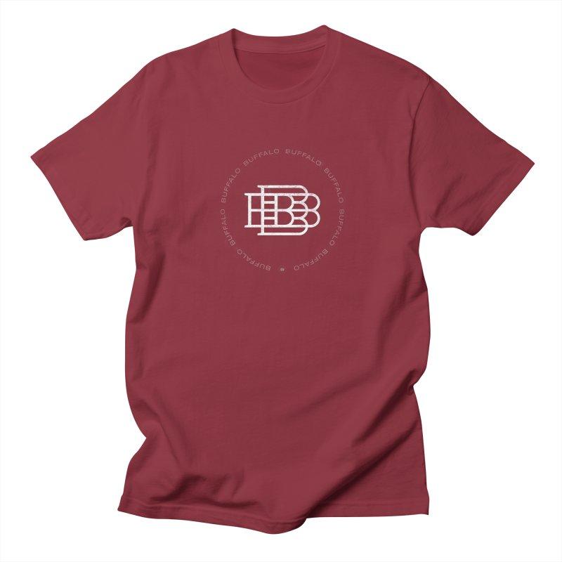 Buffalo Buffalo Logo Men's Regular T-Shirt by Buffalo Buffalo Buffalo