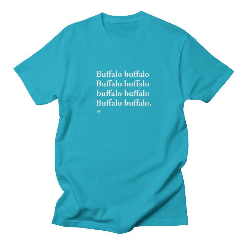 Buffalo Buffalo Words Men's Regular T-Shirt by Buffalo Buffalo Buffalo