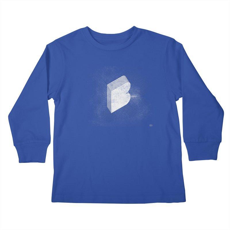 Buffalo Buffalo Bs Kids Longsleeve T-Shirt by Buffalo Buffalo Buffalo