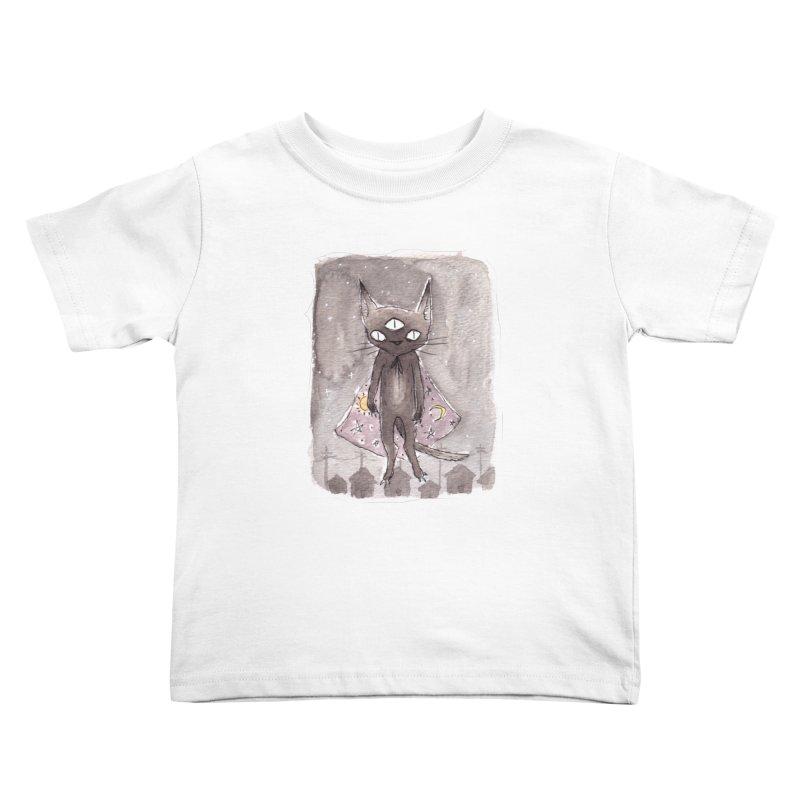 Craf†y Ki††y Kids Toddler T-Shirt by builtfromsketch's Artist Shop