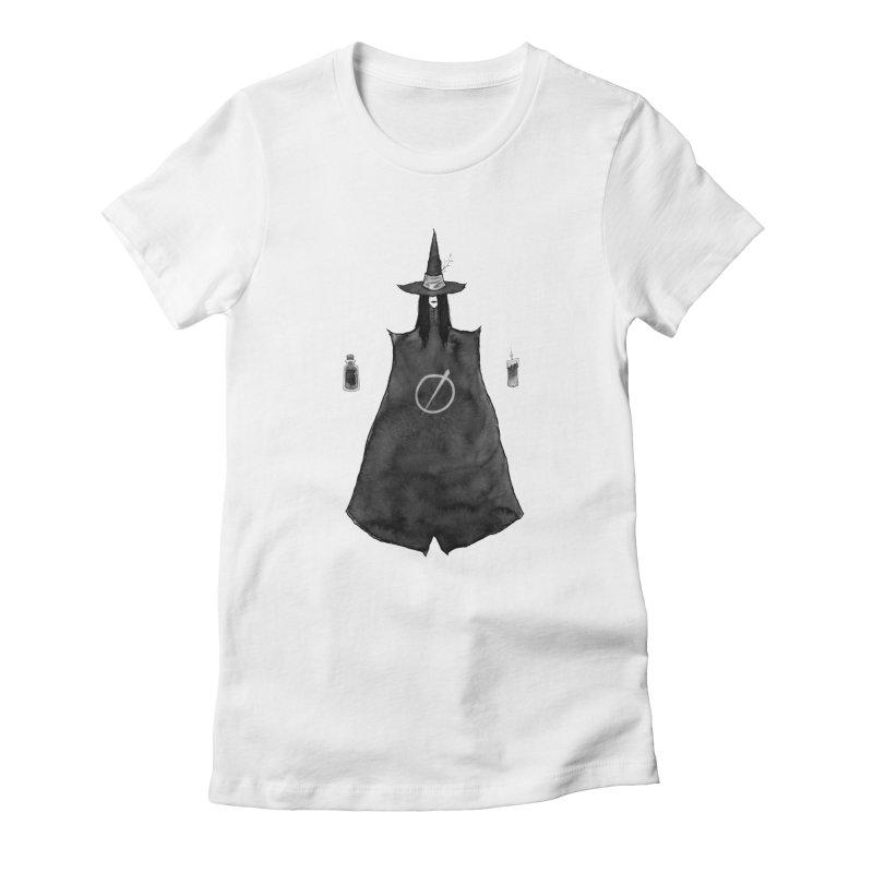 Heathen  Women's Fitted T-Shirt by builtfromsketch's Artist Shop