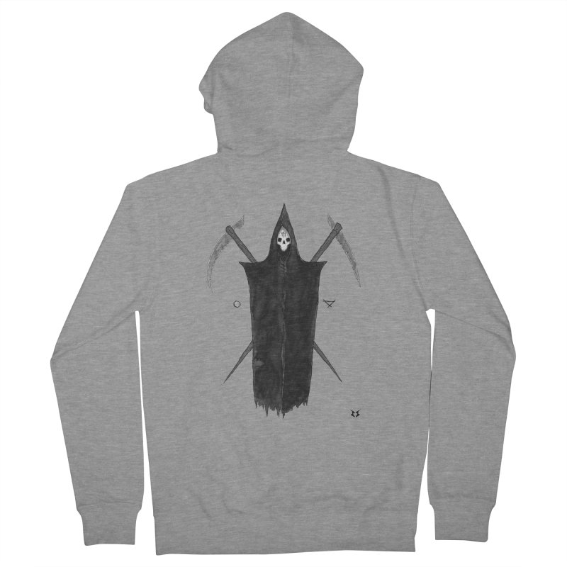 Harvester Men's Zip-Up Hoody by builtfromsketch's Artist Shop