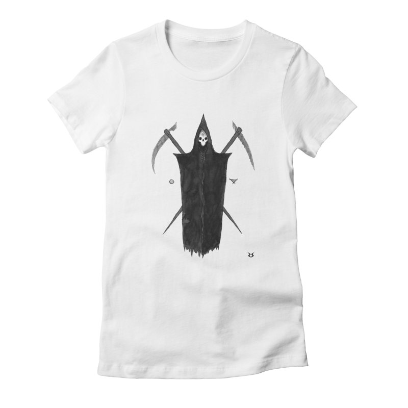 Harvester Women's Fitted T-Shirt by builtfromsketch's Artist Shop