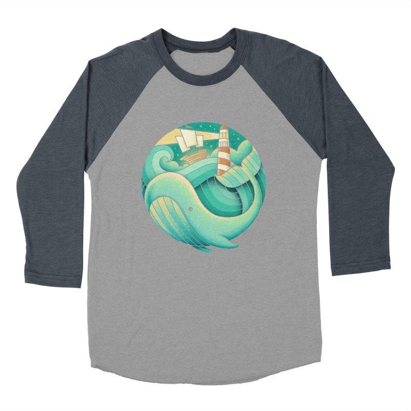 Into the Ocean Women's Baseball Triblend T-Shirt by Buko