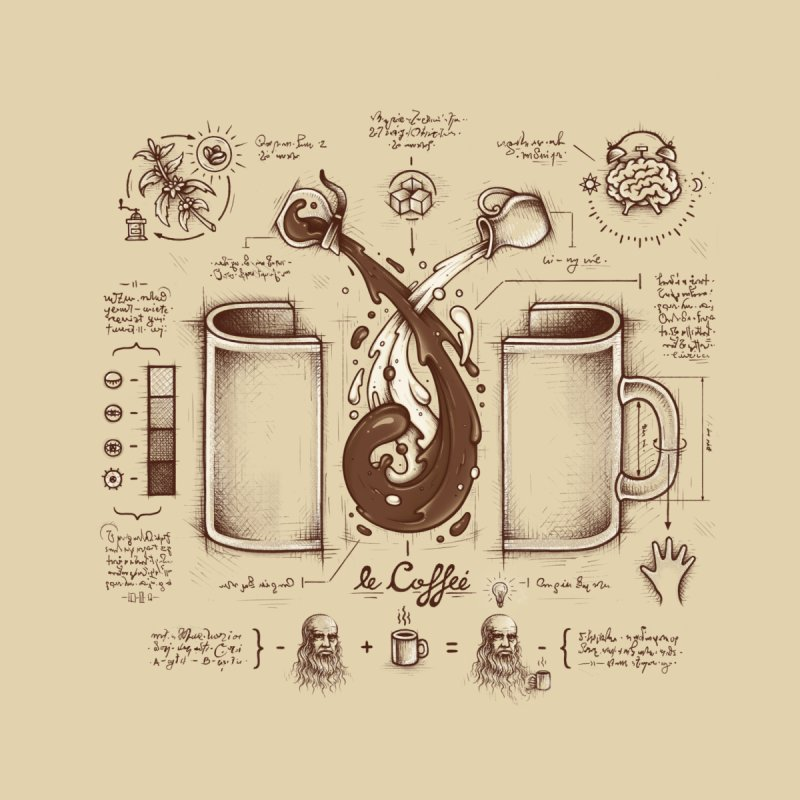 Le Coffee (Fluid of Creativity)   by Buko