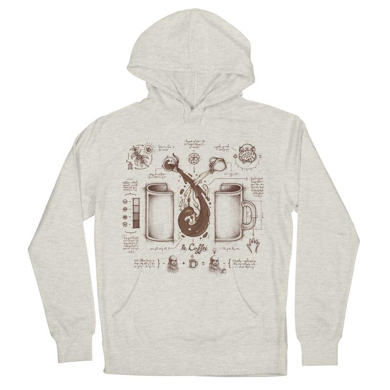 Le Coffee (Fluid of Creativity) Women's Pullover Hoody by Buko