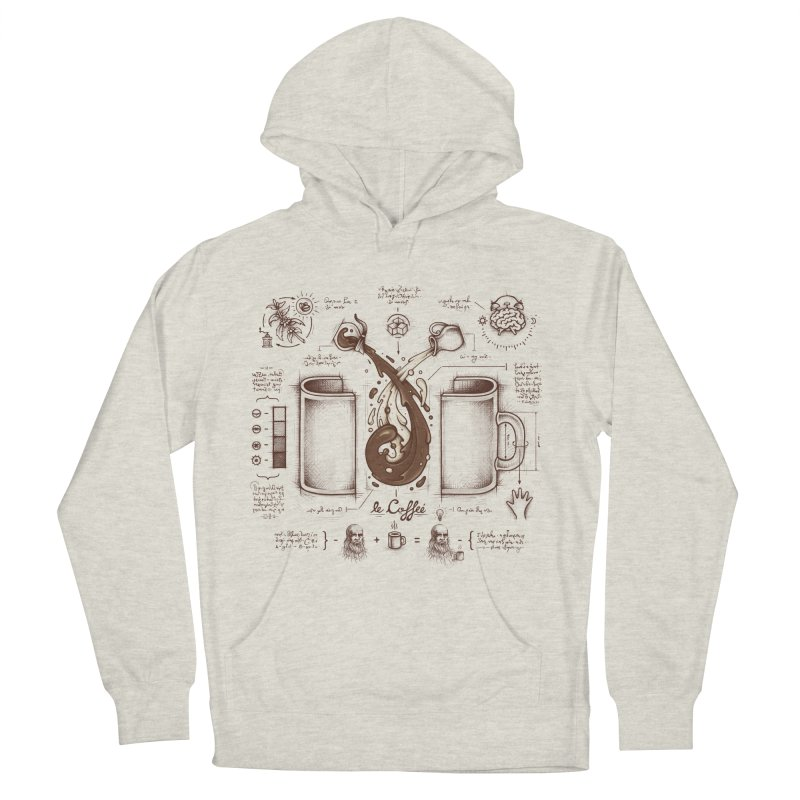 Le Coffee (Fluid of Creativity) Men's Pullover Hoody by Buko