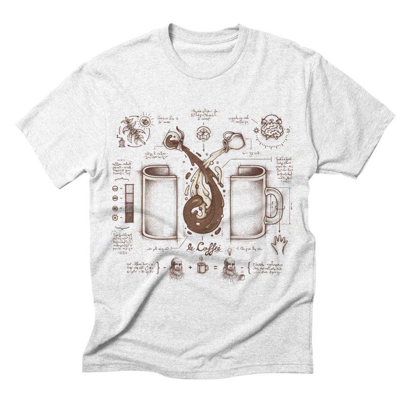 Le Coffee (Fluid of Creativity) Men's Triblend T-shirt by Buko