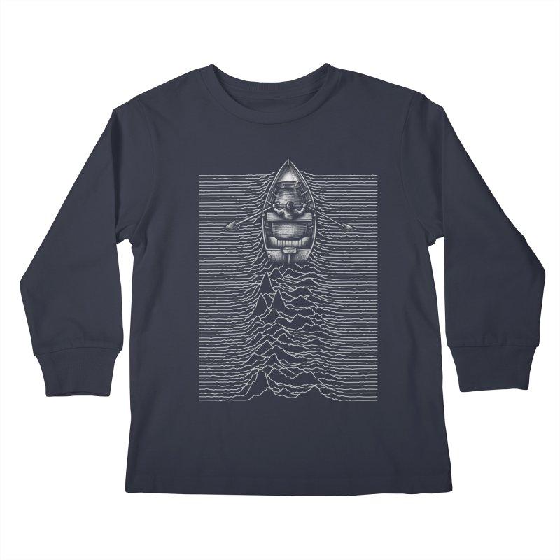 Unknown Waters Kids Longsleeve T-Shirt by Buko