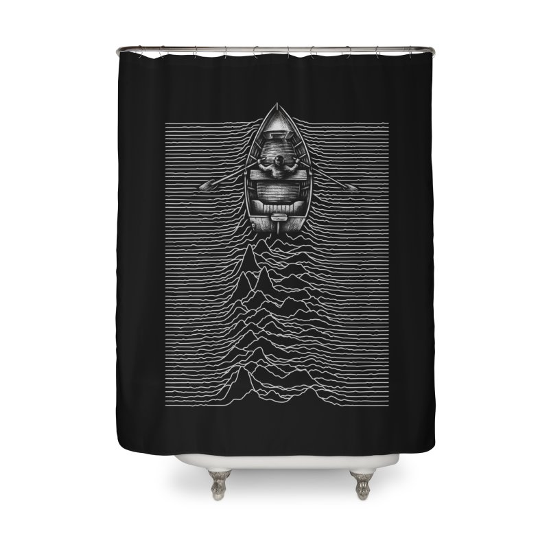 Unknown Waters Home Shower Curtain by Buko