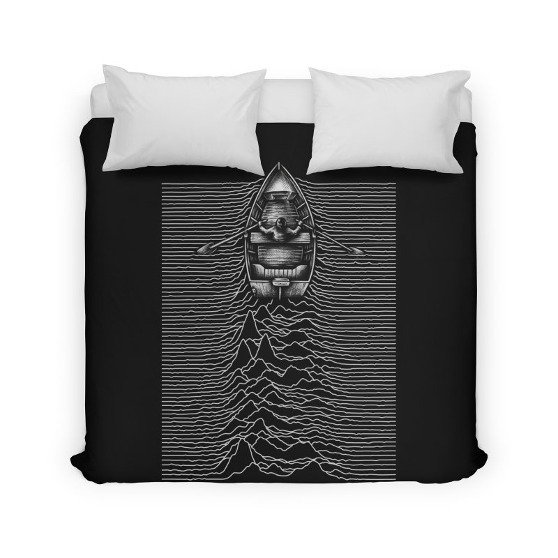 Unknown Waters Home Duvet by Buko
