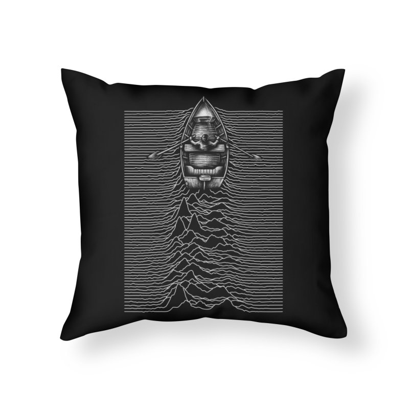 Unknown Waters Home Throw Pillow by Buko