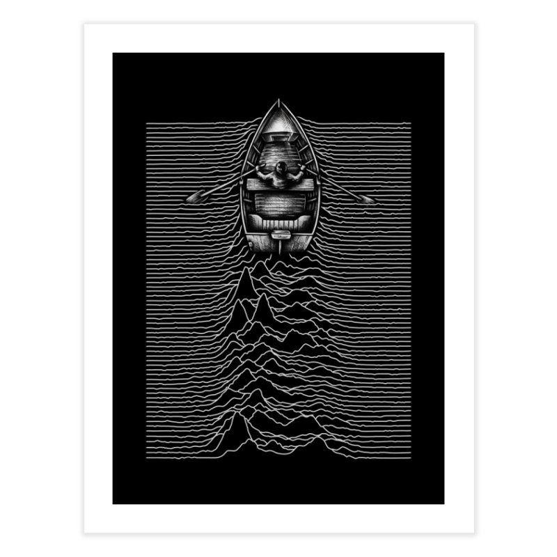 Unknown Waters Home Fine Art Print by Buko