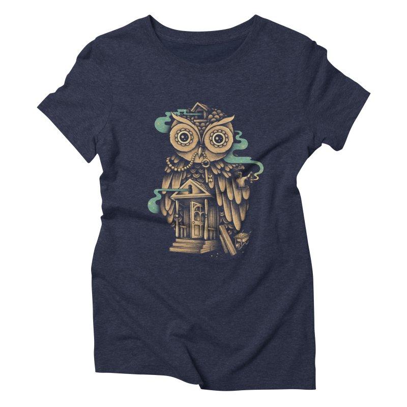 Night Watch Women's Triblend T-shirt by Buko