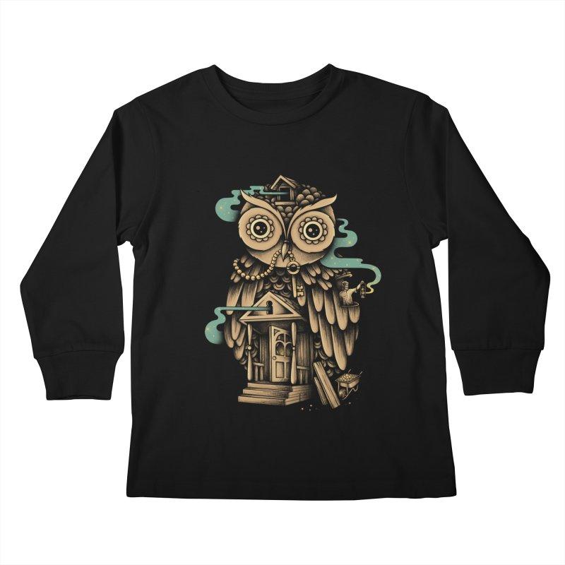 Night Watch Kids Longsleeve T-Shirt by Buko