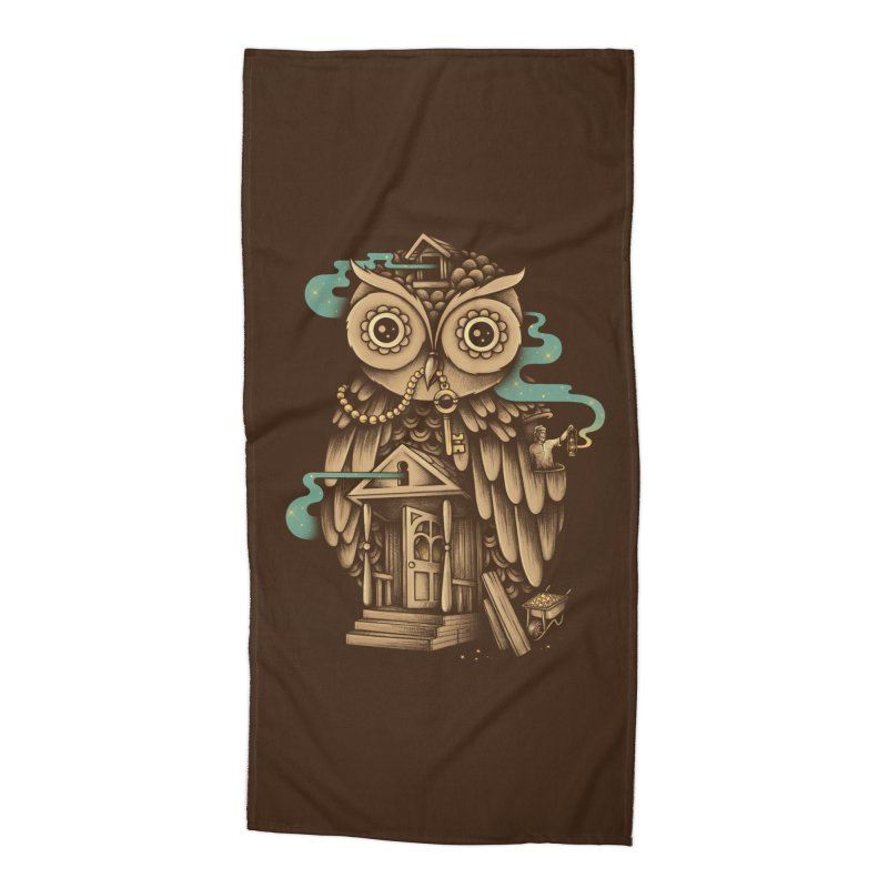 Night Watch Accessories Beach Towel by Buko