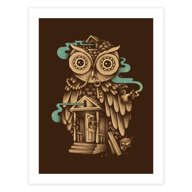 Night Watch Home Fine Art Print by Buko