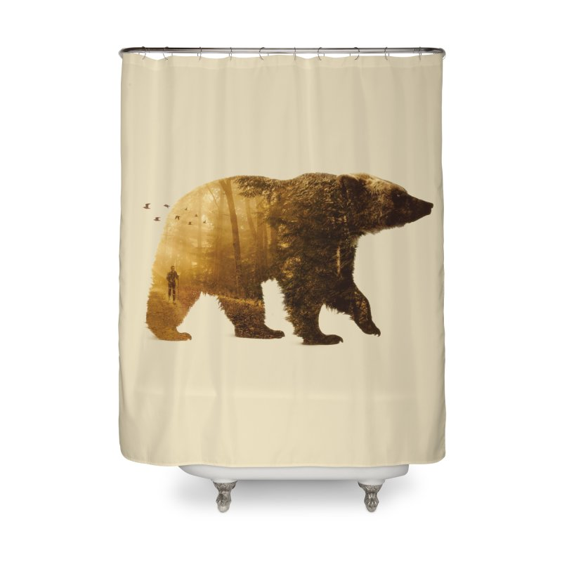 Into the Wild Home Shower Curtain by Buko
