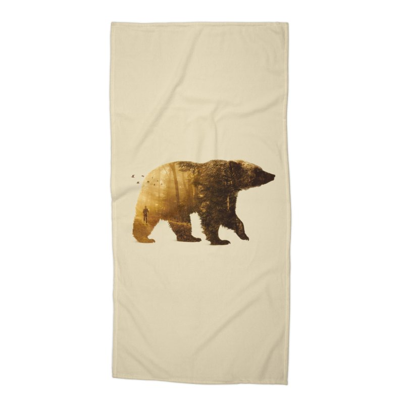 Into the Wild Accessories Beach Towel by Buko