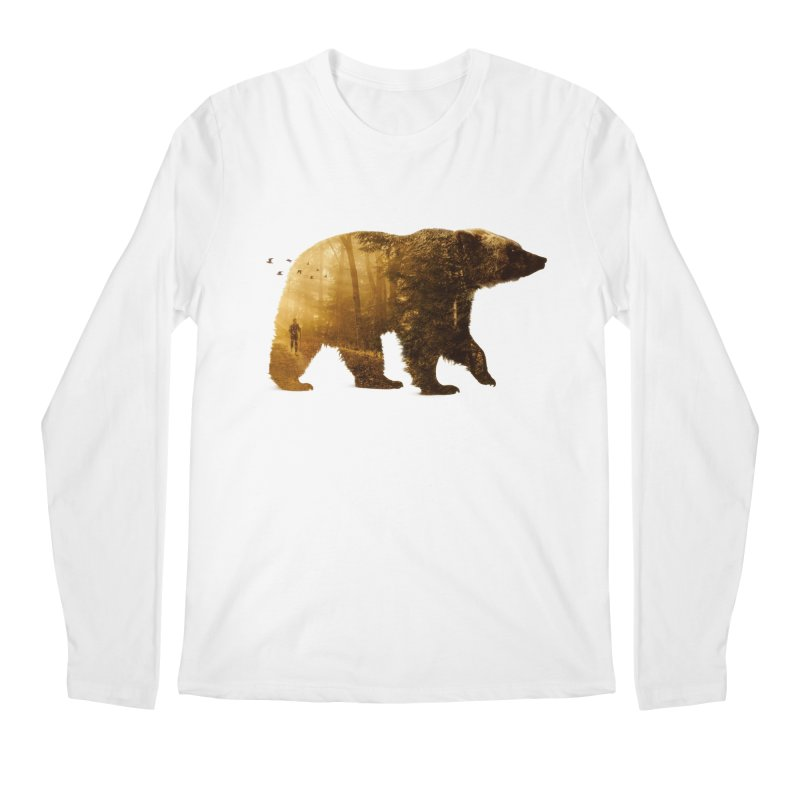 Into the Wild Men's Longsleeve T-Shirt by Buko
