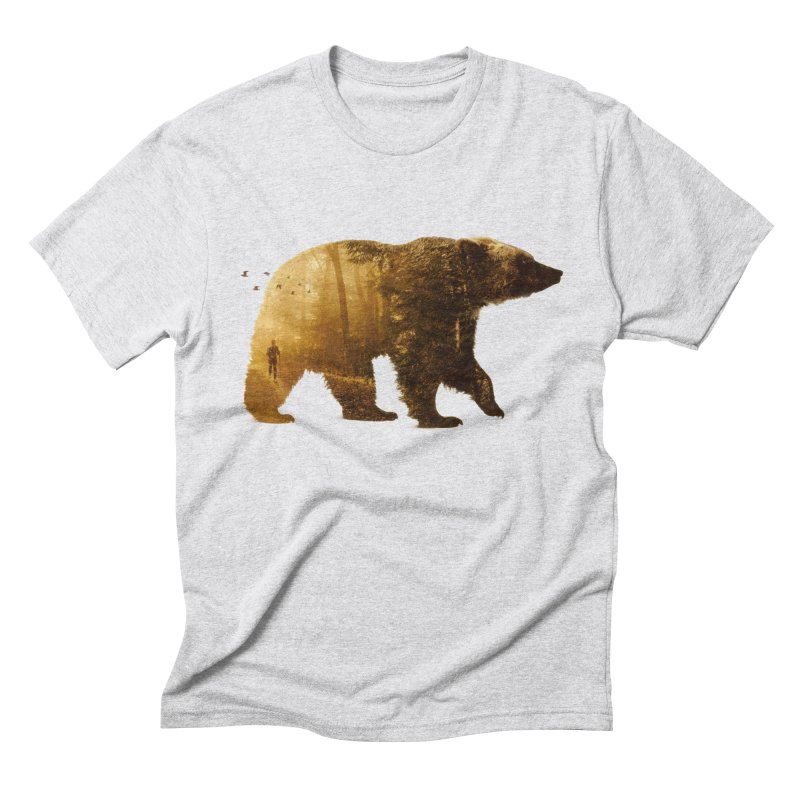 Into the Wild Men's Triblend T-shirt by Buko
