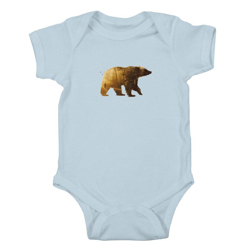 Into the Wild Kids Baby Bodysuit by Buko