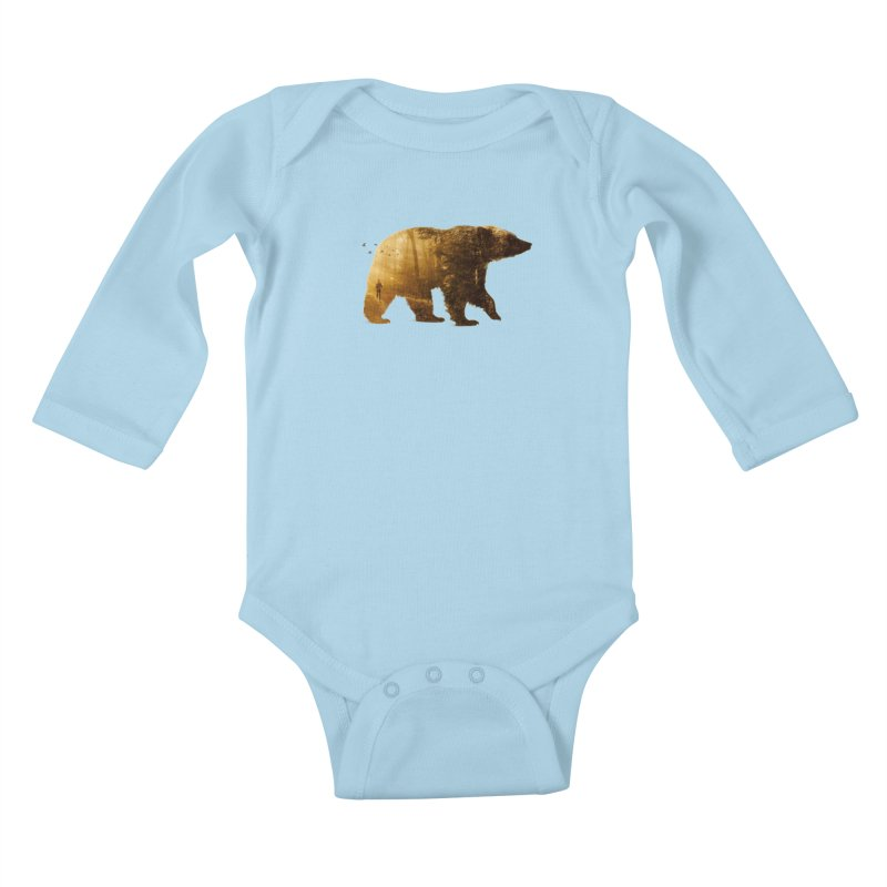 Into the Wild Kids Baby Longsleeve Bodysuit by Buko