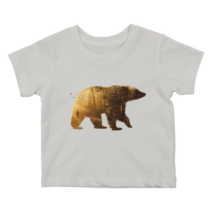 Into the Wild Kids Baby T-Shirt by Buko