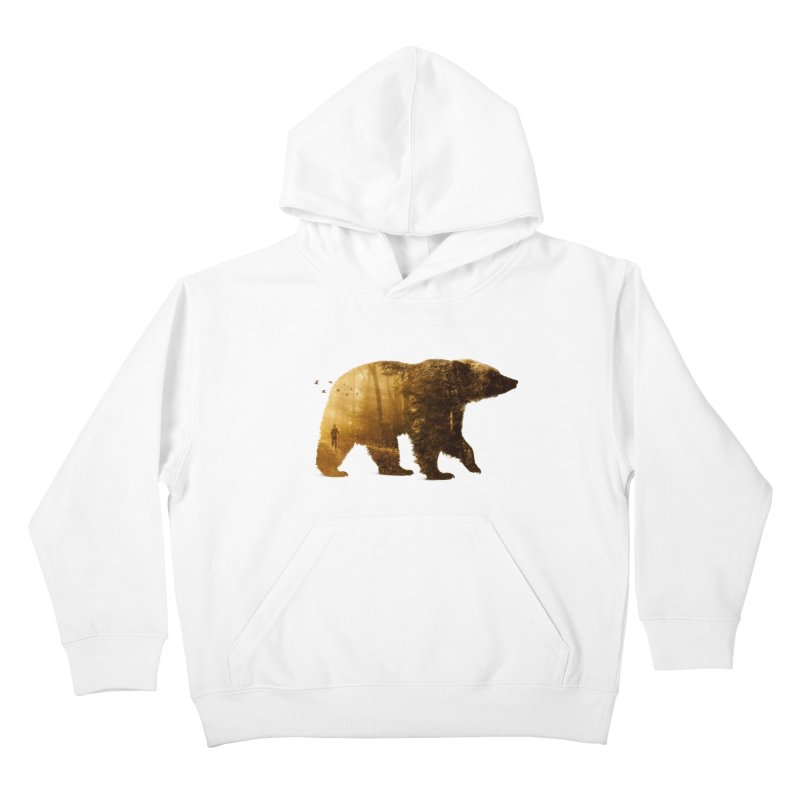 Into the Wild Kids Pullover Hoody by Buko