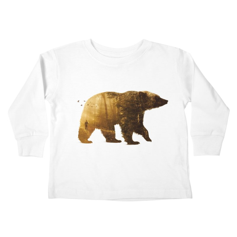 Into the Wild Kids Toddler Longsleeve T-Shirt by Buko
