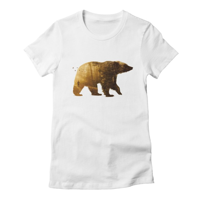 Into the Wild Women's Fitted T-Shirt by Buko
