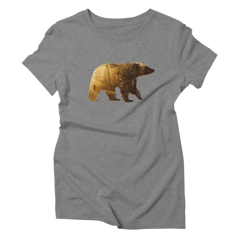 Into the Wild Women's Triblend T-shirt by Buko