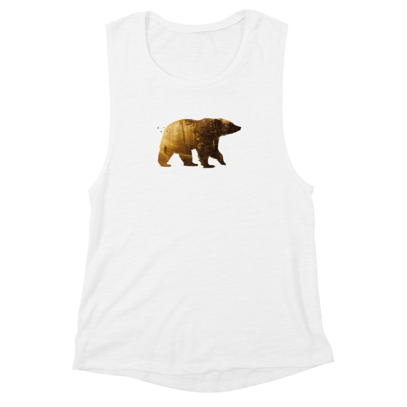 Into the Wild Women's Muscle Tank by Buko