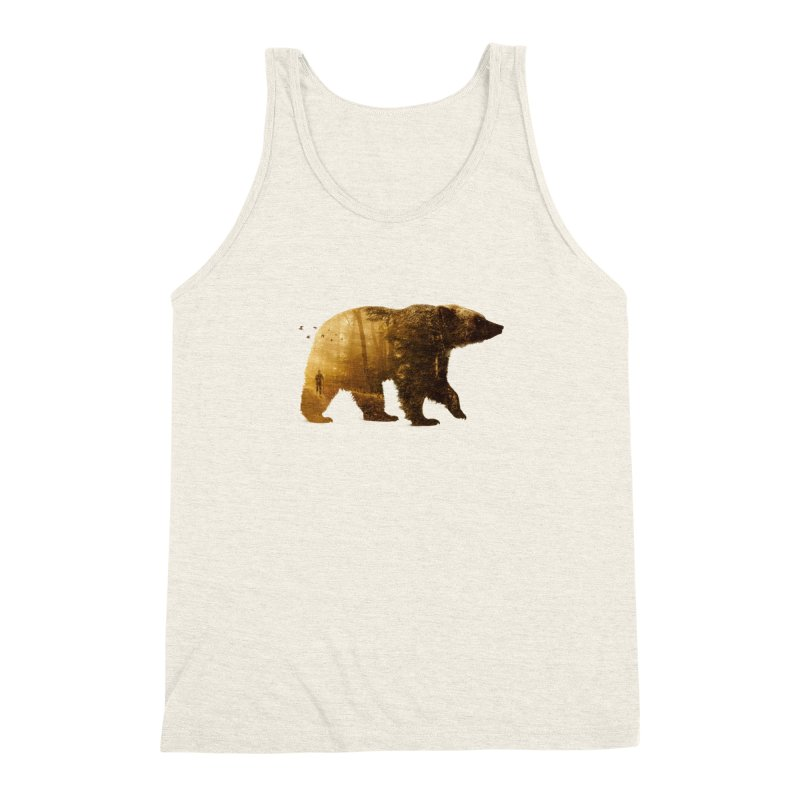 Into the Wild Men's Triblend Tank by Buko