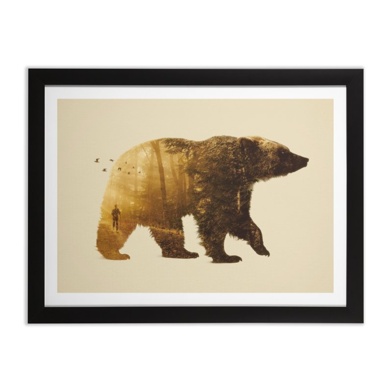 Into the Wild Home Framed Fine Art Print by Buko