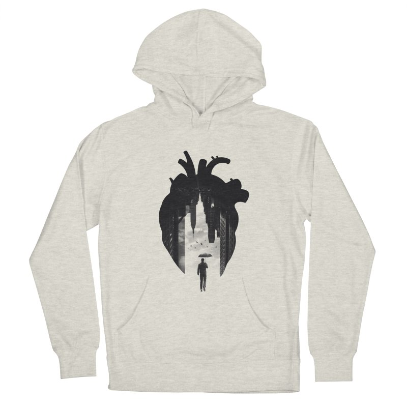 In the heart of the City Men's Pullover Hoody by Buko