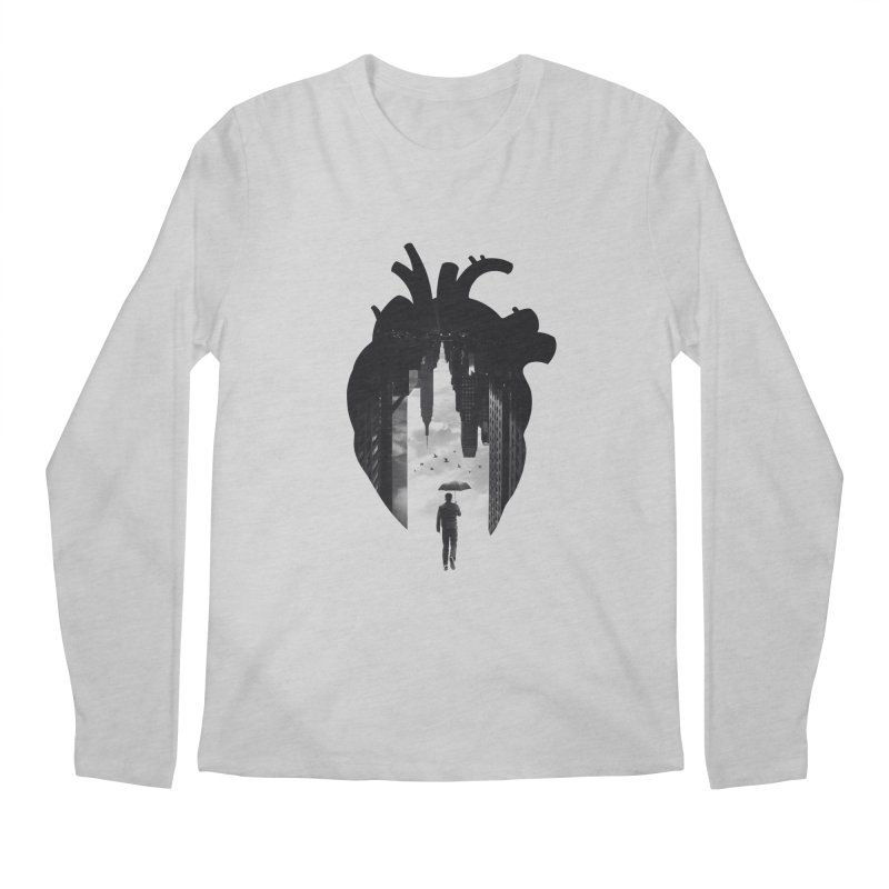 In the heart of the City Men's Longsleeve T-Shirt by Buko
