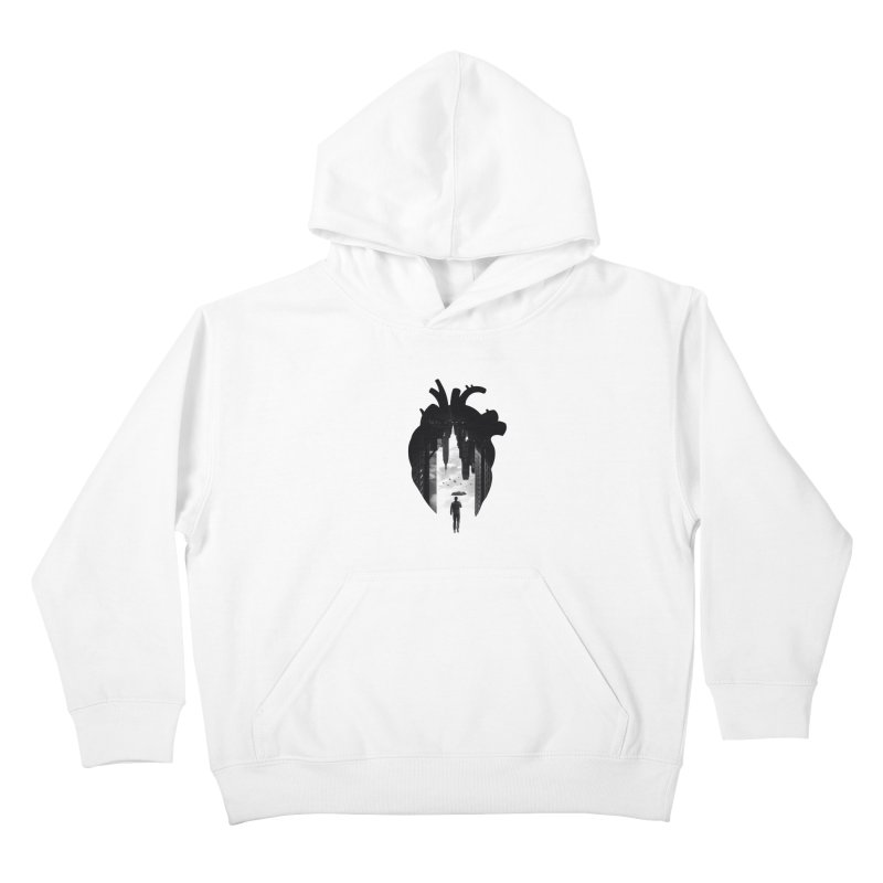 In the heart of the City Kids Pullover Hoody by Buko