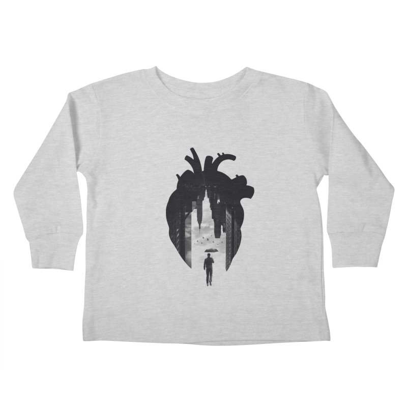 In the heart of the City Kids Toddler Longsleeve T-Shirt by Buko